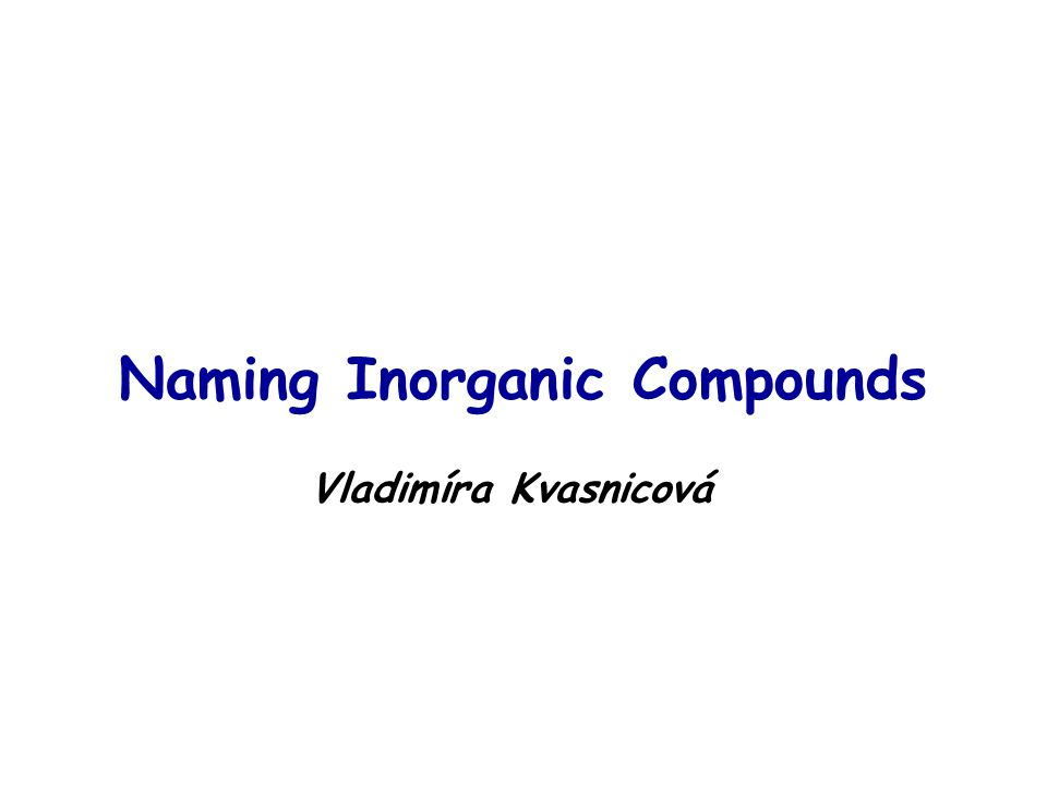 """Types of compounds 10.basic salts of ACIDS  """"cation hydroxy anion Mg(OH)Clmagnesium hydroxychloride Sb(OH) 2 (NO 3 )antimony(III) dihydroxynitrate Total charge of molecule is ZERO"""