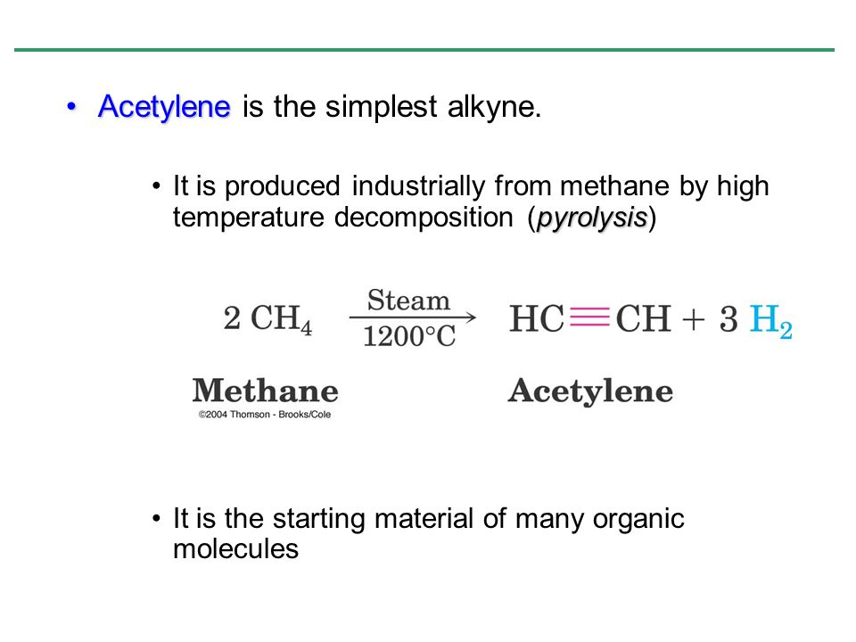 Practice Problem: There are seven isomeric alkynes with the formula C 6 H 10. Draw and name them