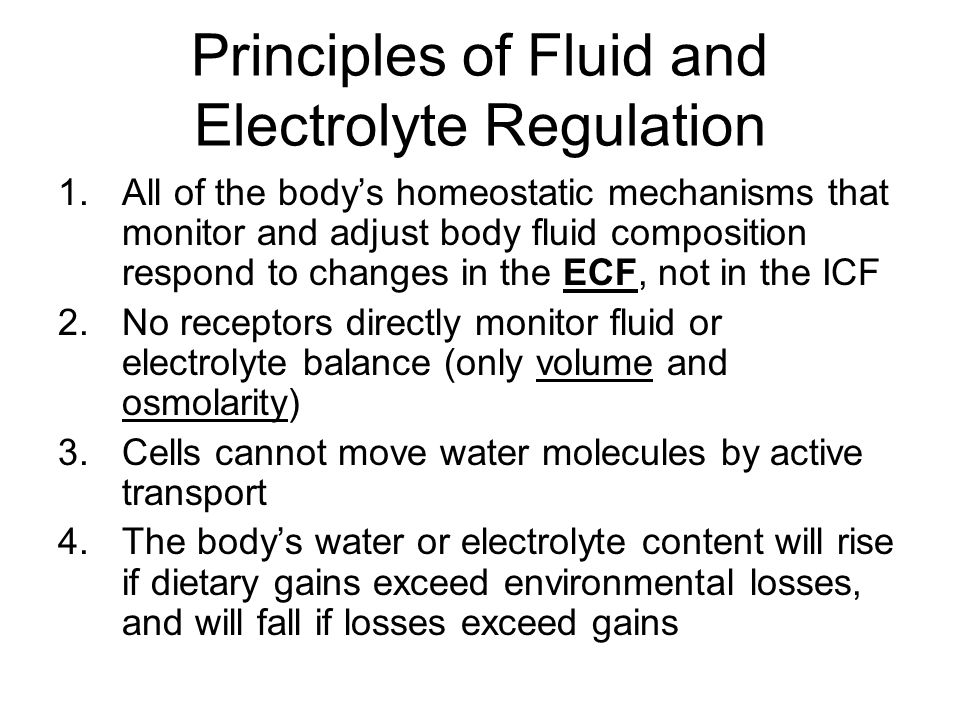Fluid Balance Water circulates freely in ECF compartment ECF and ICF are normally in osmotic equilibrium and no large-scale circulation occurs between compartments If abnormal amounts of water move from plasma into interstitial fluid  called.