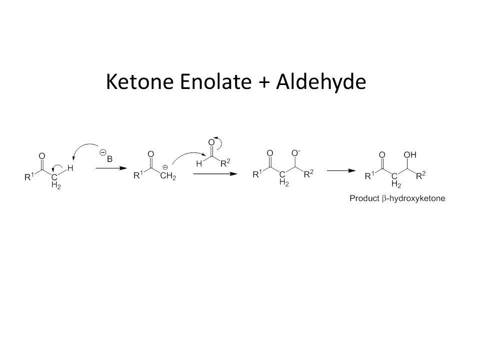 Ketone Enolate + Aldehyde