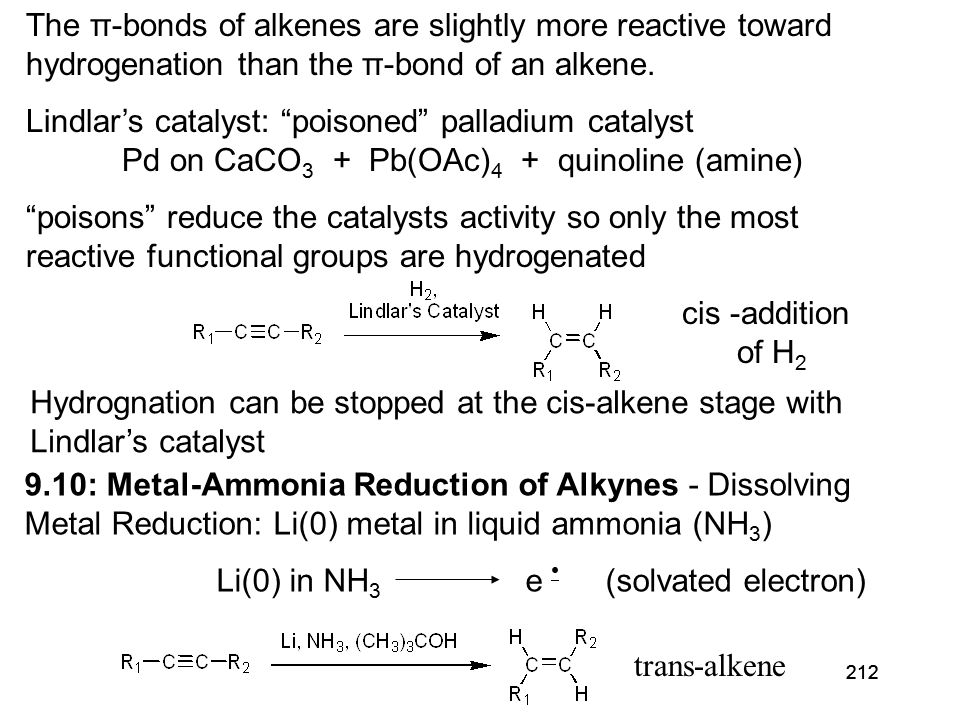 213 9.11: Addition of Hydrogen Halides to Alkynes Addition of HX to acetylenes: Markovnikov addition only useful for terminal or symmetrical acetylenes (R 1 = R 2 ) Mechanism .
