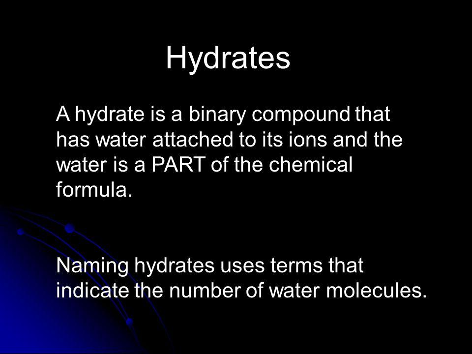 More Polyatomic Ions (learn these, too) NameFormula Hydrogen carbonate (bicarbonate) HCO 3 - HCO 3 - Nitrite NO 2 - NO 2 - Permanganate MnO 4 - MnO 4 - Sulfite SO 3 2- SO 3 2-