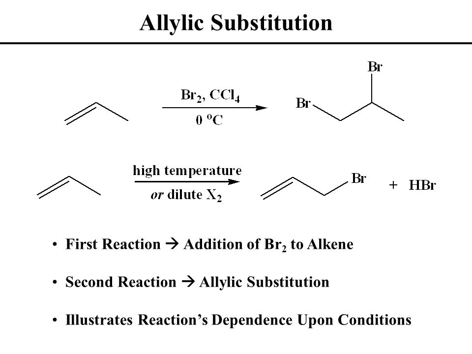 Allylic Chlorination Allyl Choride Synthesis Known as Shell Process Radical Substitution Mechanism (Multi-Step)  Initiation  Propagation  Termination