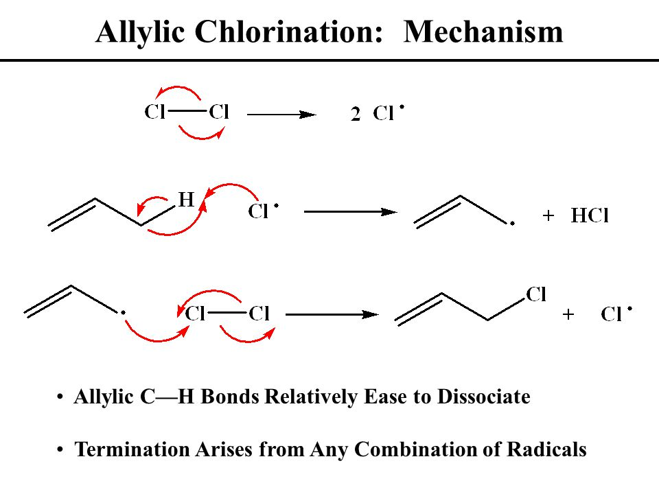 Allylic Bromination: NBS NBS: N-Bromosuccinimide (Low Br 2 Concentration) Nonpolar Solvent, Dilute Conditions Primarily Get Allylic Substitution Product