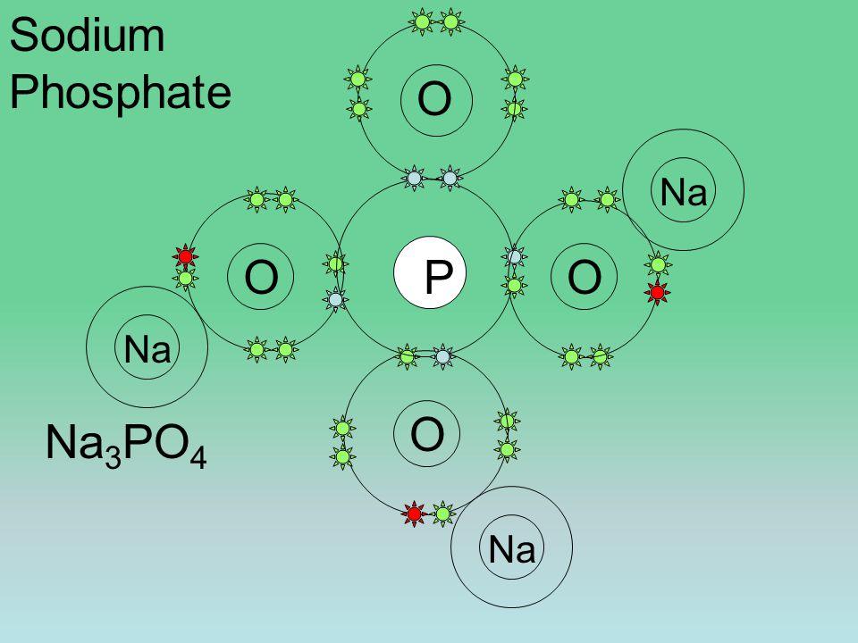 O O O PO Na Sodium Phosphate Na 3 PO 4
