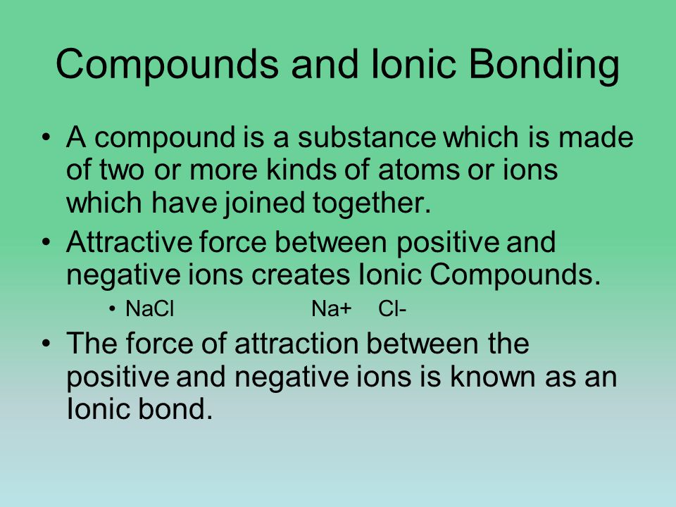 Writing & Naming Ionic Compounds Na +1 & Br -1
