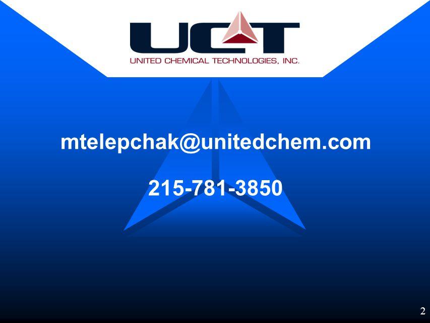 1 United Chemical Technologies, Inc.