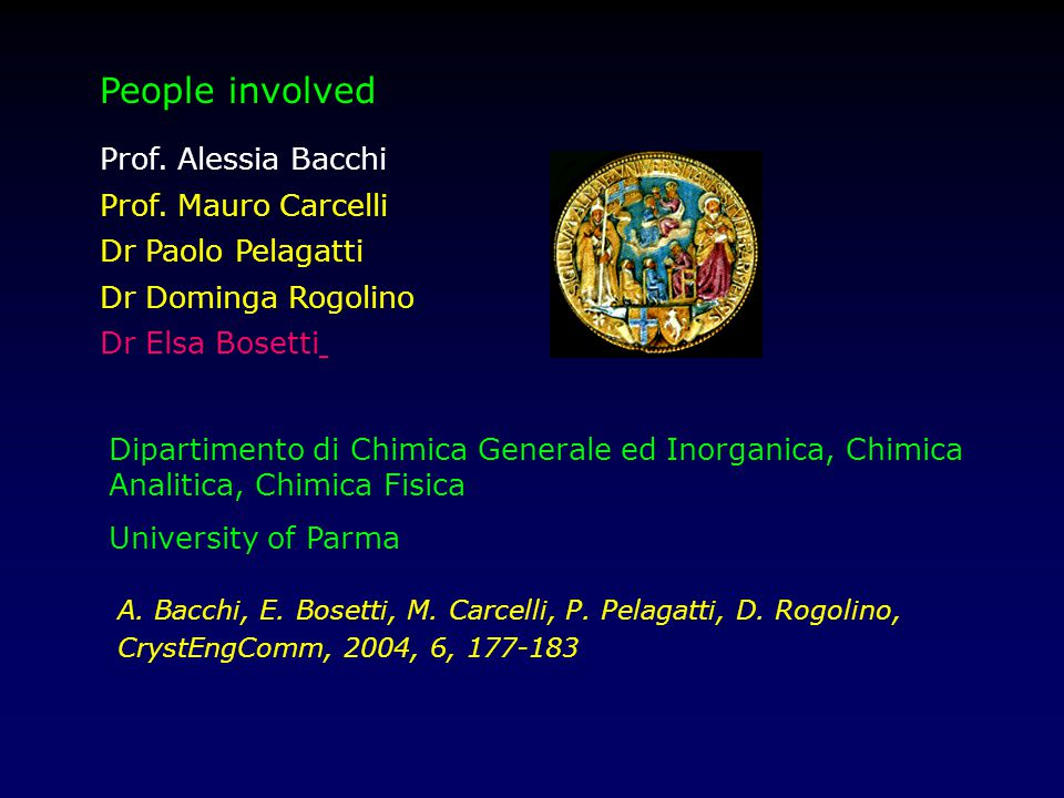 Prof. Alessia Bacchi Prof.