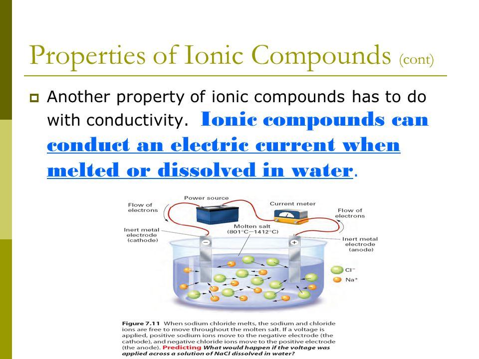Ionic Compound NaCl