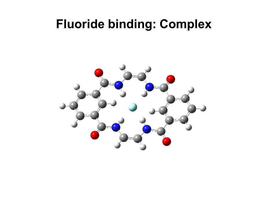 Fluoride binding: Complex