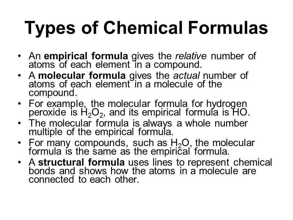 Tro's Introductory Chemistry, Chapter 5 13 Order of Elements in a Formula metals written first –NaCl nonmetals written in order from Table 5.1 –CO 2 –