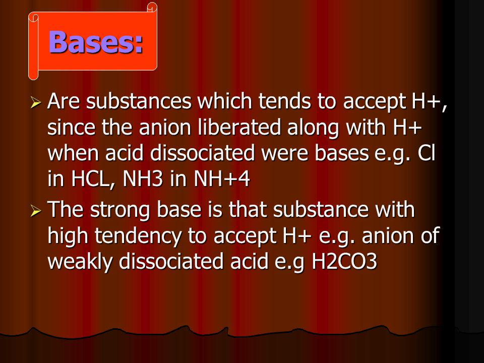 Aprote: Aprote:  Metallic cation e.g Na +, K + which are not bases or acids