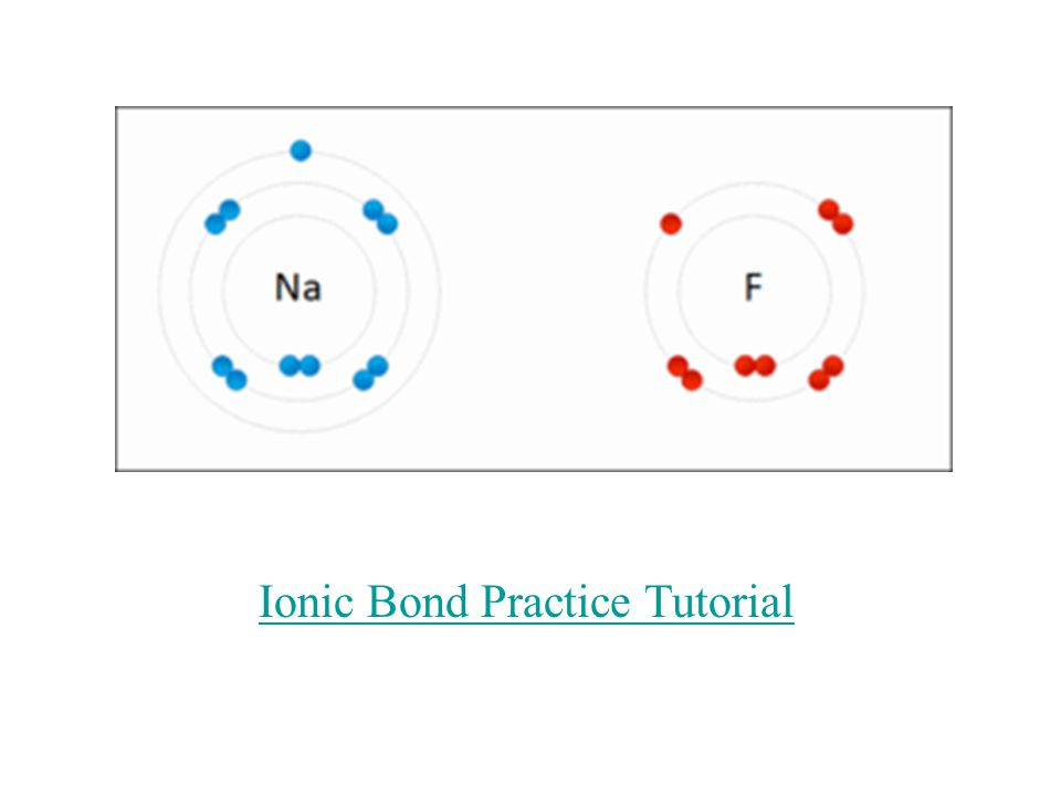 4) Types of Compounds: a) Binary form from monatomic ions – have 1 cation and 1 anion.