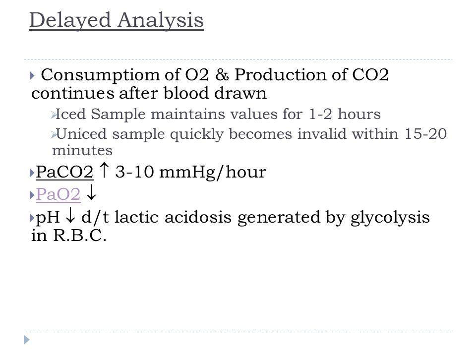 Case-5  7.19/35/60 on 7L, HCO 3 - 9, anion gap = 18, albumin = 4.0  1: pH = Acidemia (pH < 7.4)  2:CO 2 = Base (CO2<40)  So Primary disturbance: Metabolic Acidosis  3&4: Compensation .