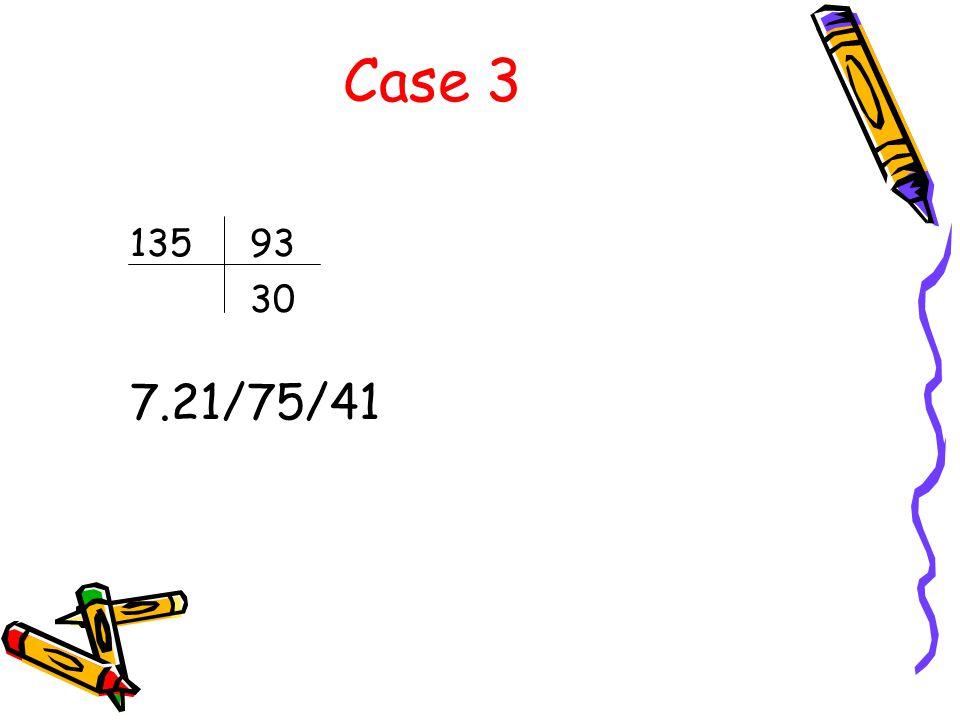 Case 3 13593 30 7.21/75/41