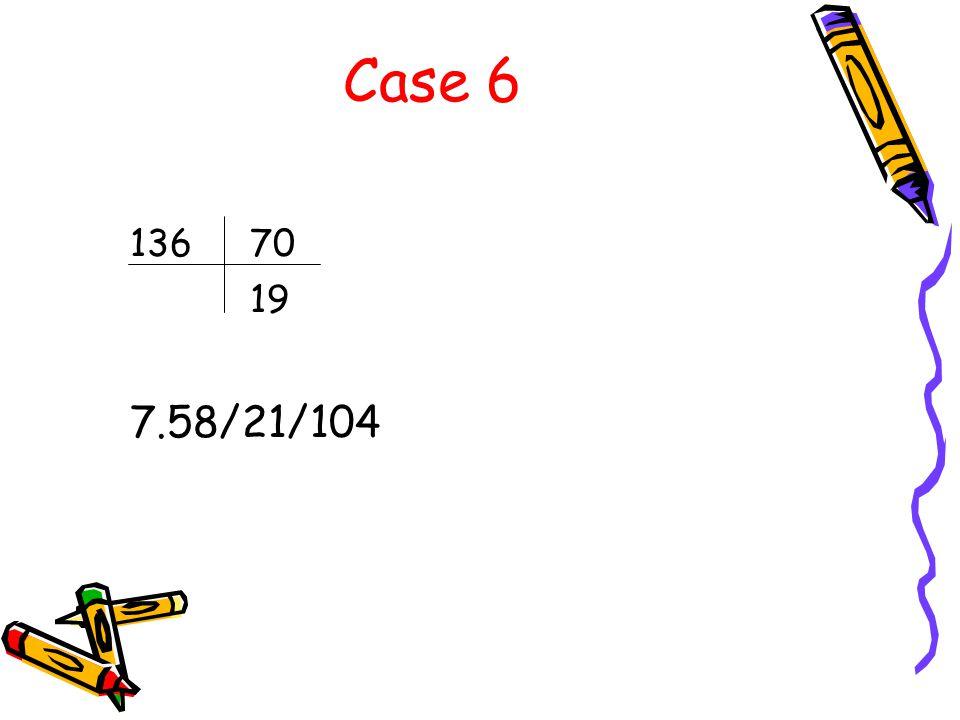 Case 6 13670 19 7.58/21/104