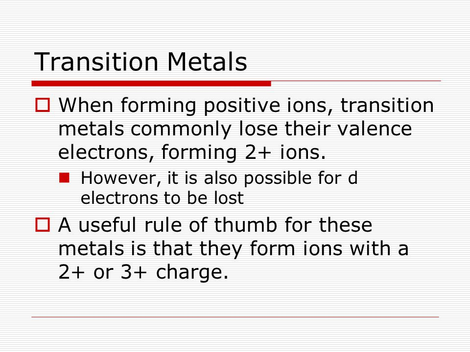 Metallic Bonds and Properties of Metals (Section 8.4)  Although metals do not bond ionically, they often form lattices in the solid state.