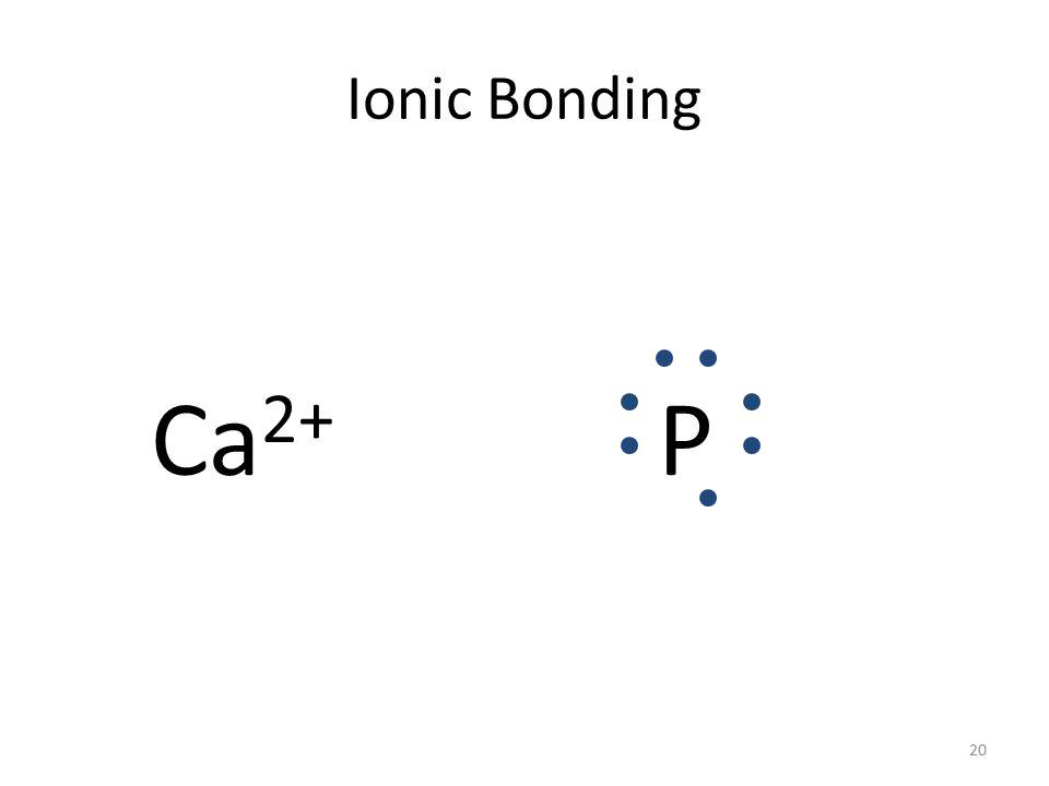 Ionic Bonding CaP 19