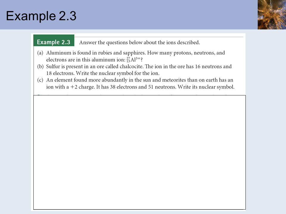 Example 2.3