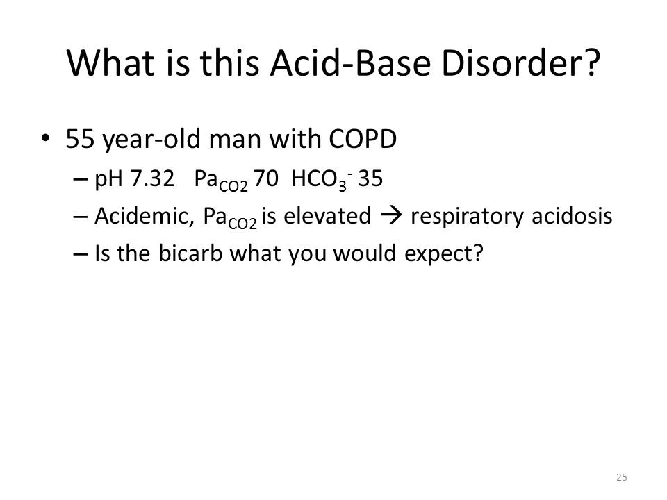 What is this Acid-Base Disorder.