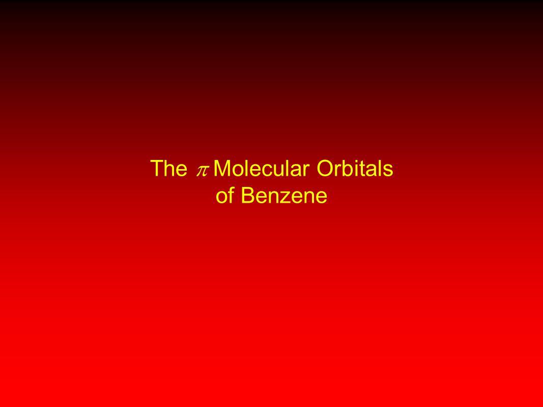 The  Molecular Orbitals of Benzene