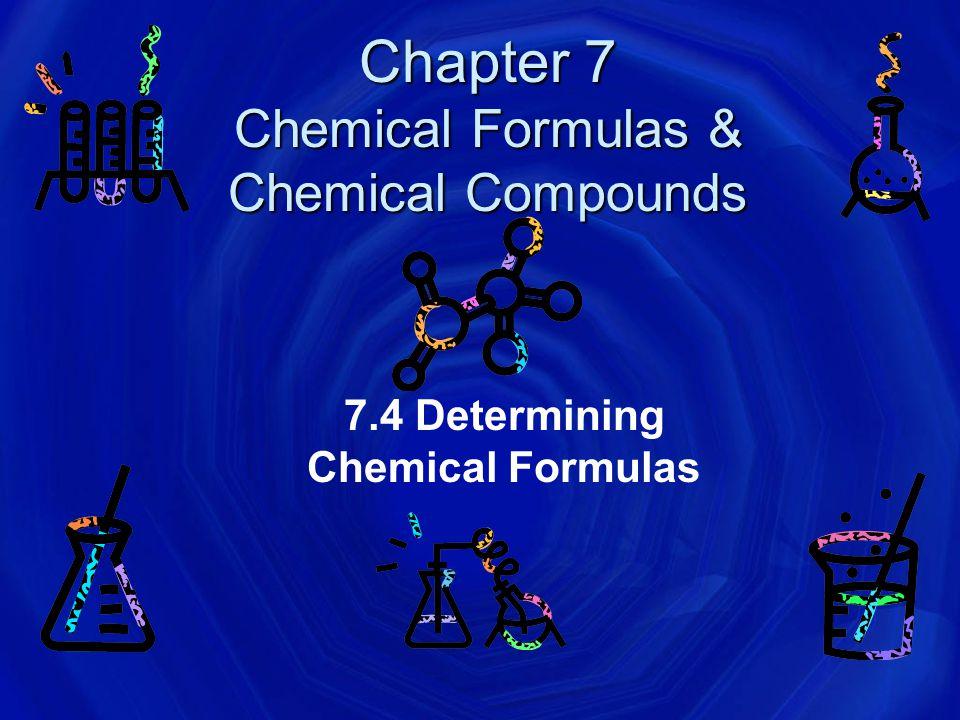 Formulas Formulas for molecular compounds MIGHT be empirical (lowest whole number ratio).