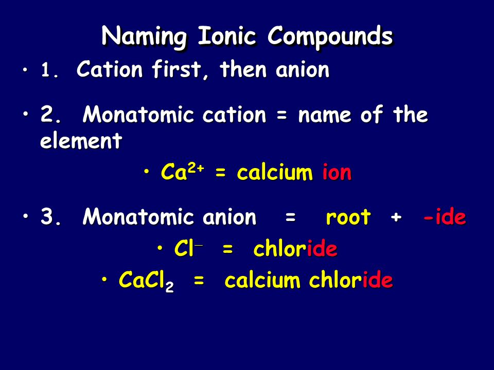 Writing Ionic Compound Formulas Example: Aluminum phosphate 1.