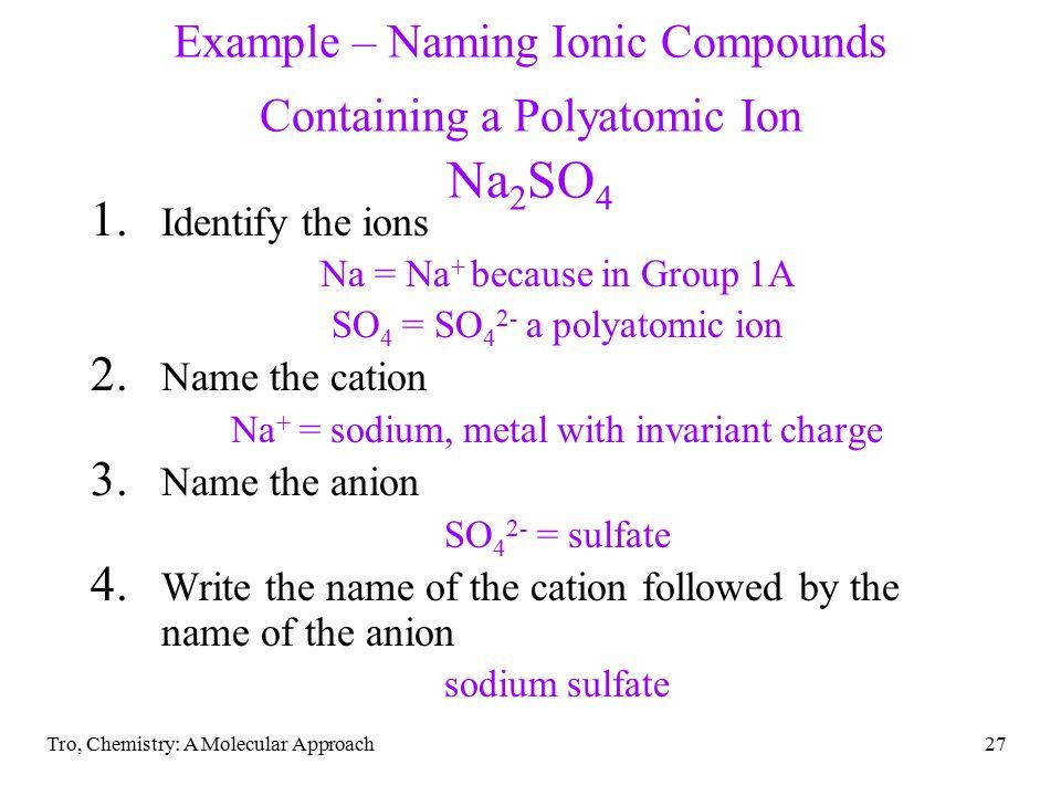 Tro, Chemistry: A Molecular Approach27 1.