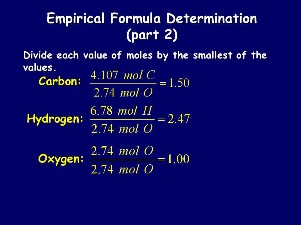 Empirical Formula Determination Adipic acid contains 49.32% C, 43.84% O, and 6.85% H by mass. What is the empirical formula of adipic acid?
