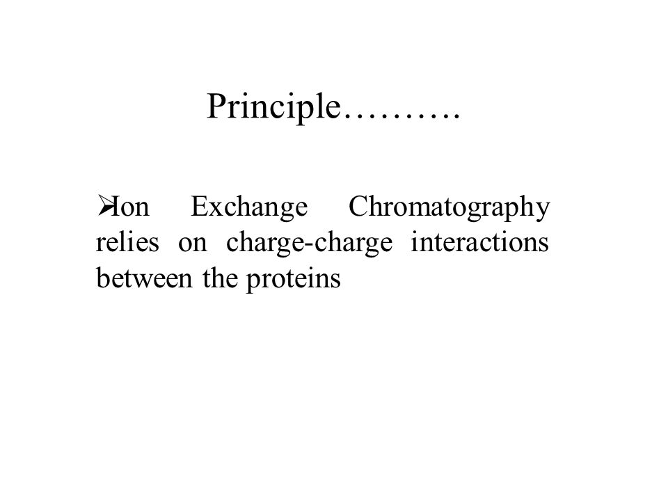 Types of IEC….  anion exchangers  cation exchangers