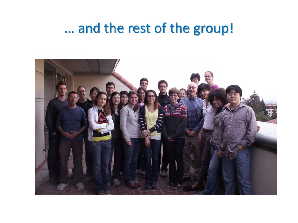 … and the rest of the group!