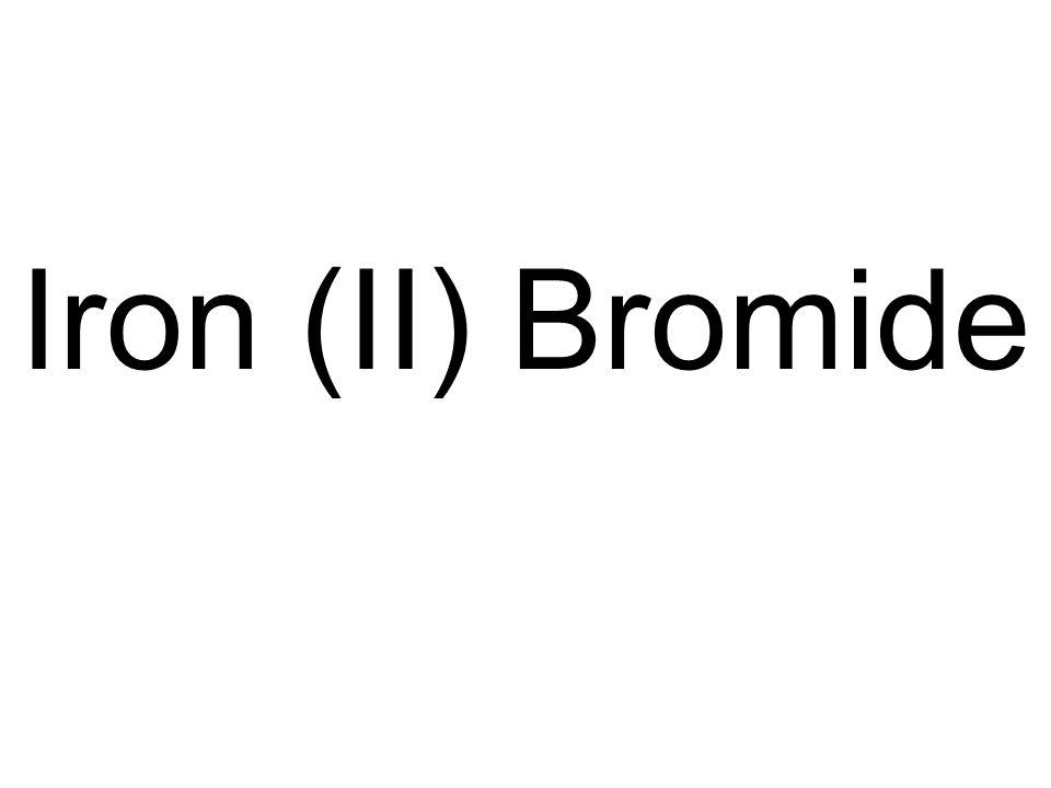 Iron (II) Bromide
