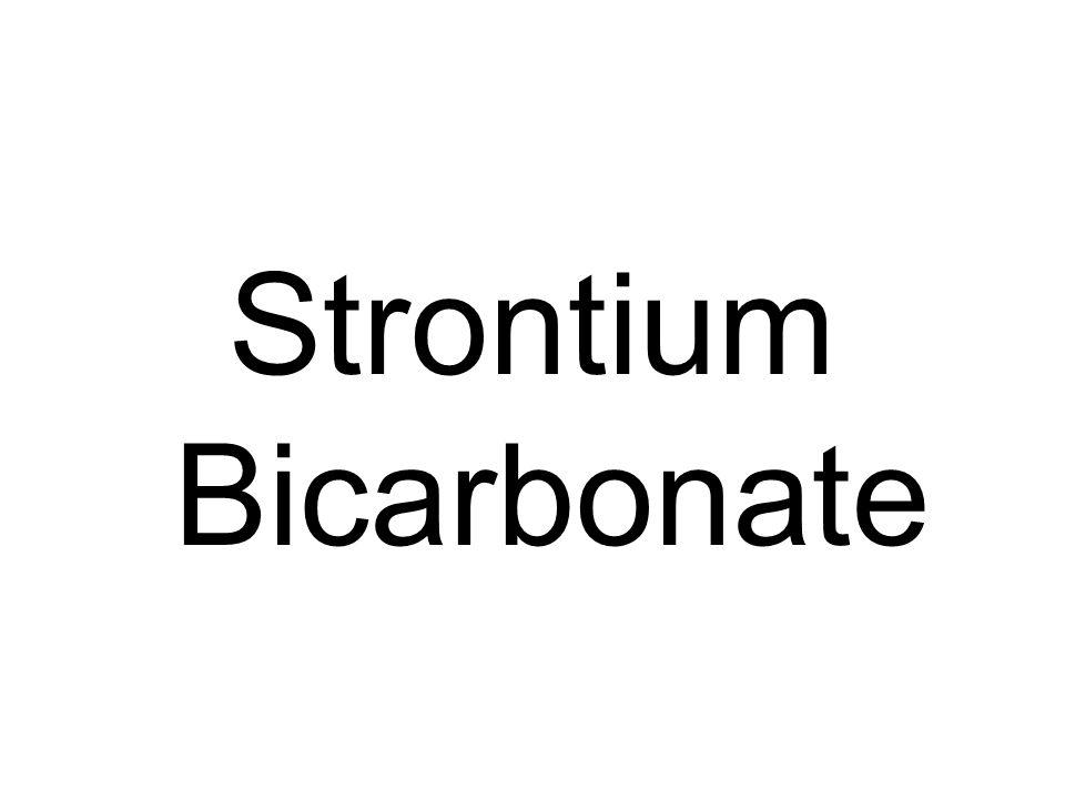 Strontium Bicarbonate