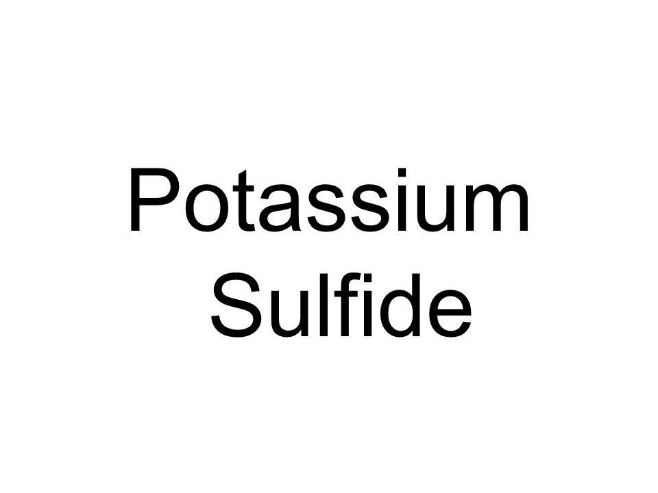 Potassium Sulfide