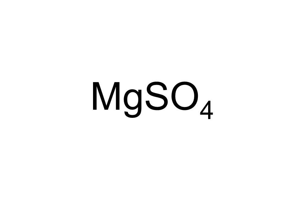 MgSO 4