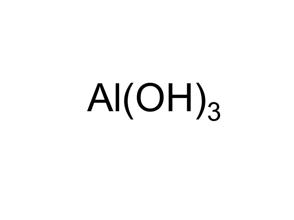Al(OH) 3