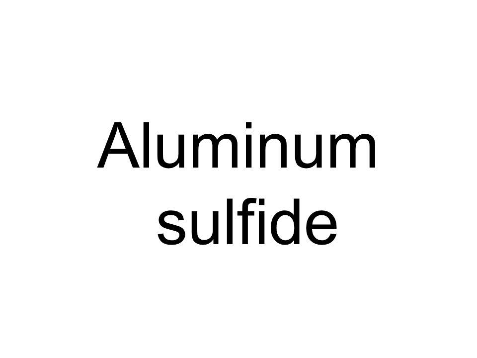 Aluminum sulfide