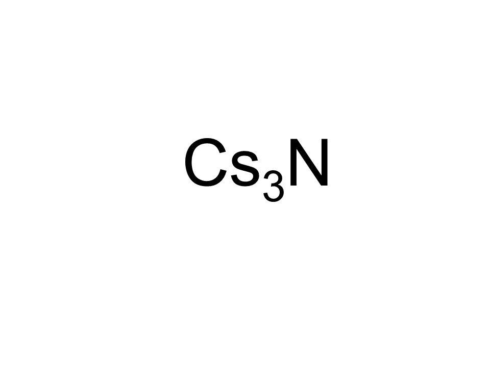 Cs 3 N