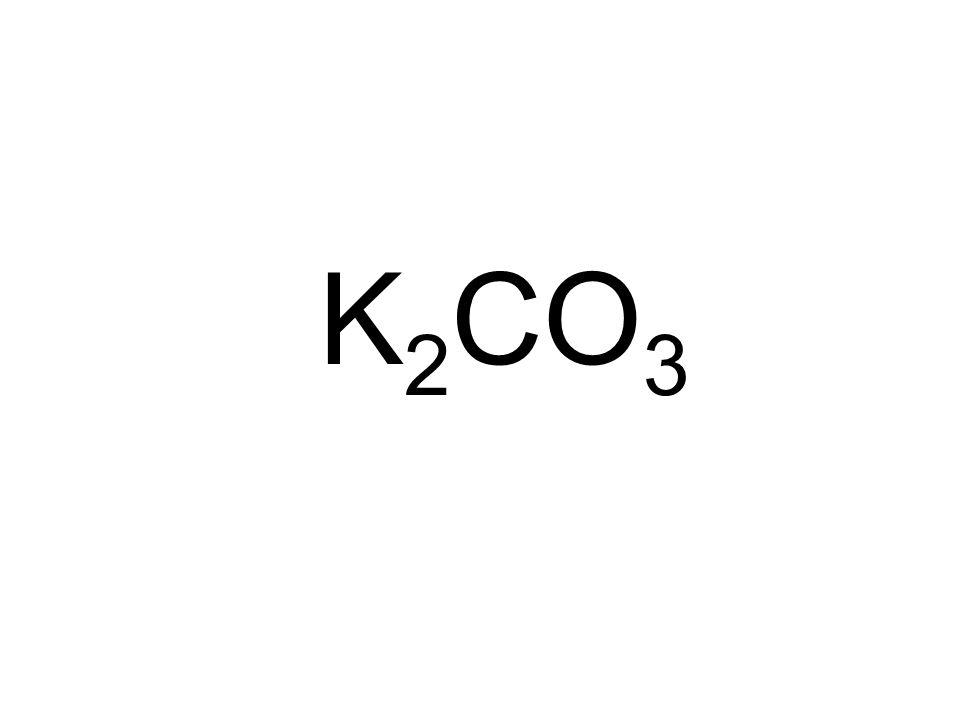 K 2 CO 3