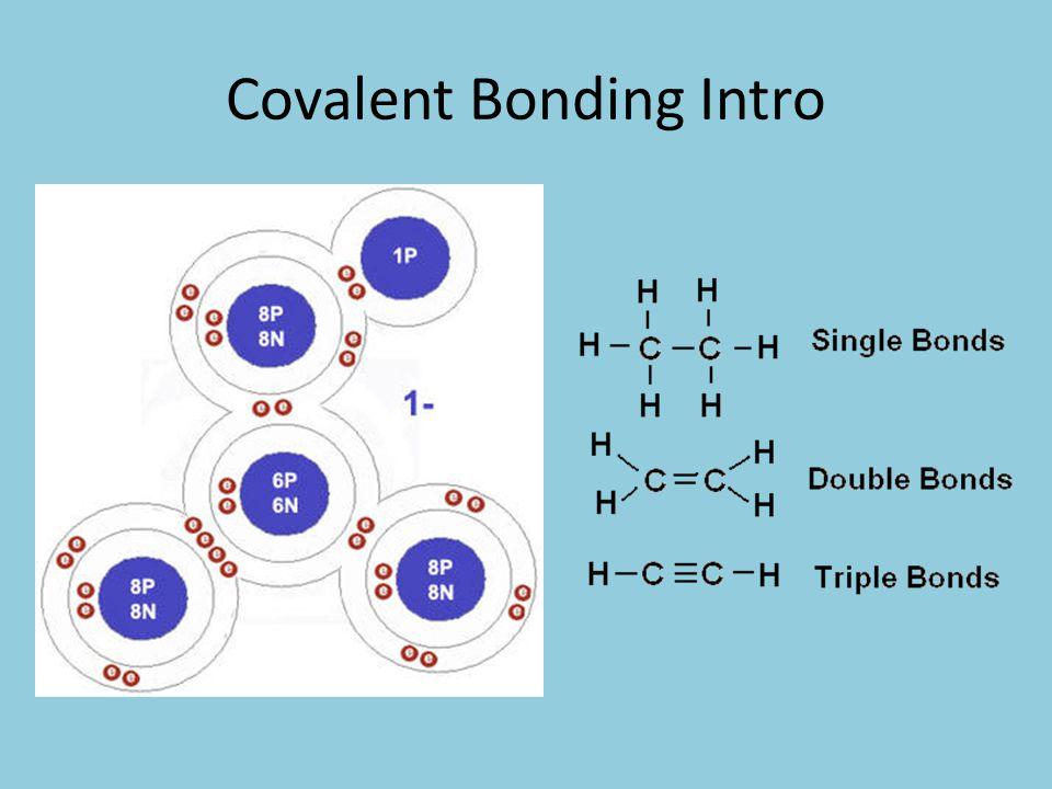 Covalent Bonding Intro