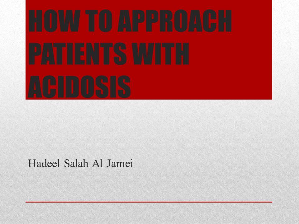 Acidosis App