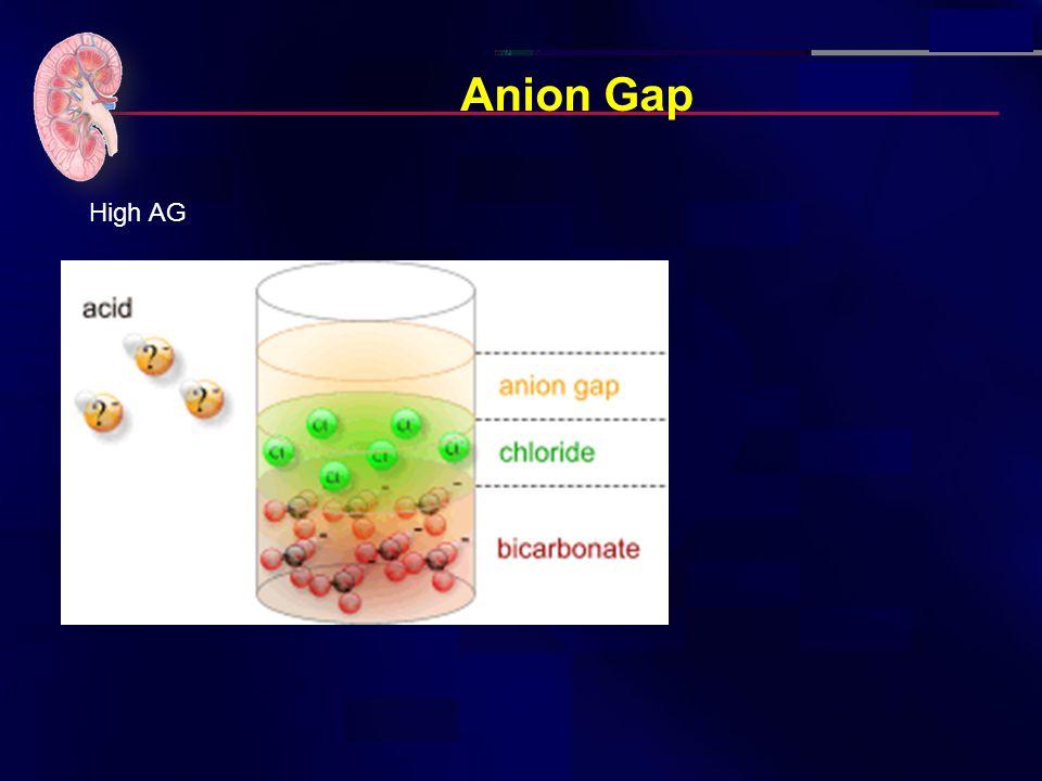 Anion Gap High AG