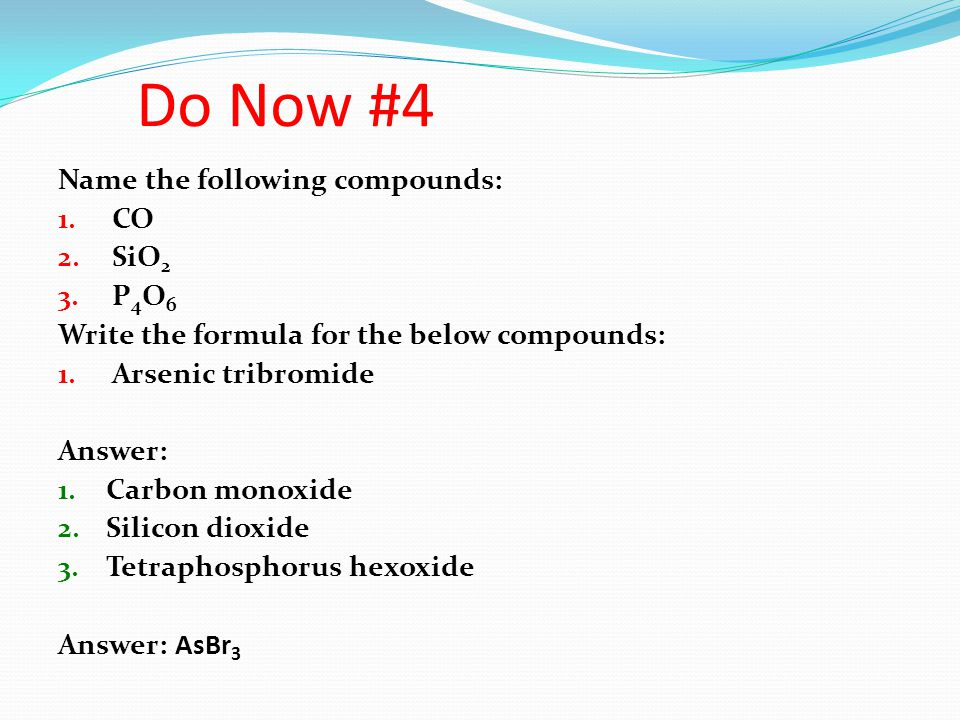 Types of Chemical Bonds Ionic Compounds: Formed by the opposite attraction between cations & anions.