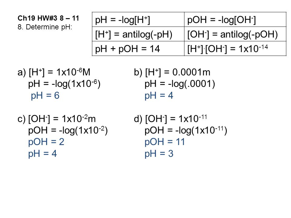 Ch19 HW#3 8 – 11 8.