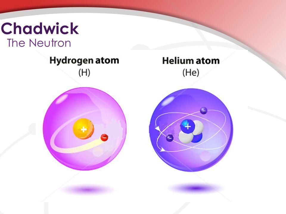 Chadwick The Neutron