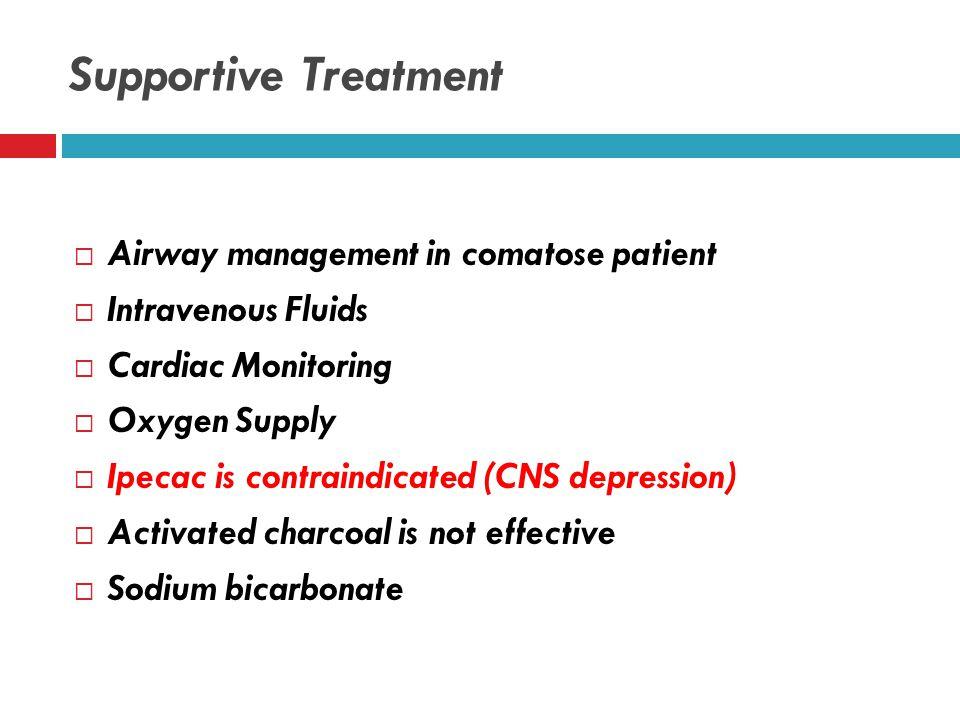 Treatment  Supportive Care  Hemodialysis  Folic acid  Antidotes  Sodium Bicarbonate
