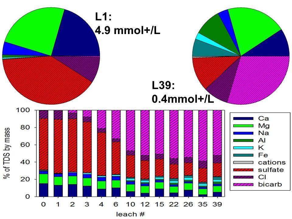 L1: 4.9 mmol+/L L39: 0.4mmol+/L