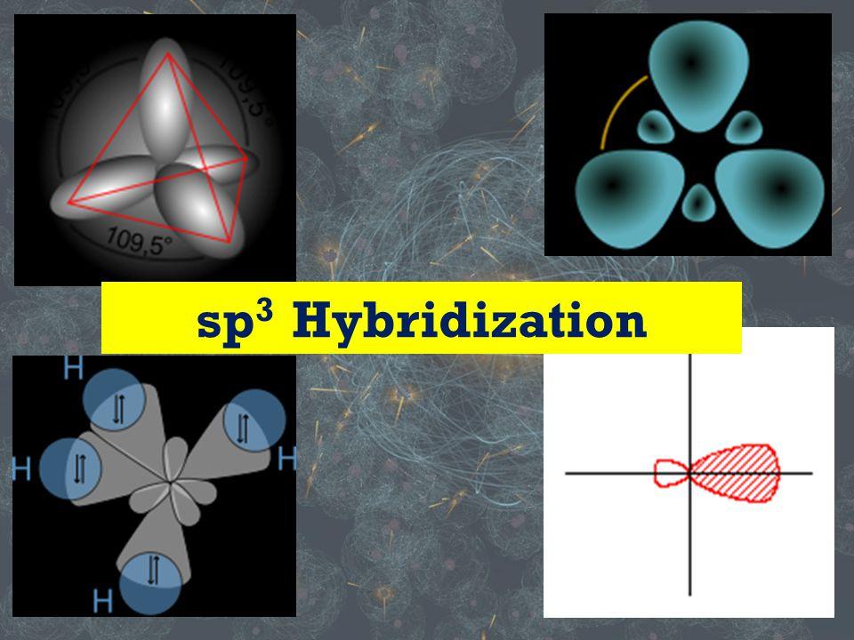 sp 3 Hybridization