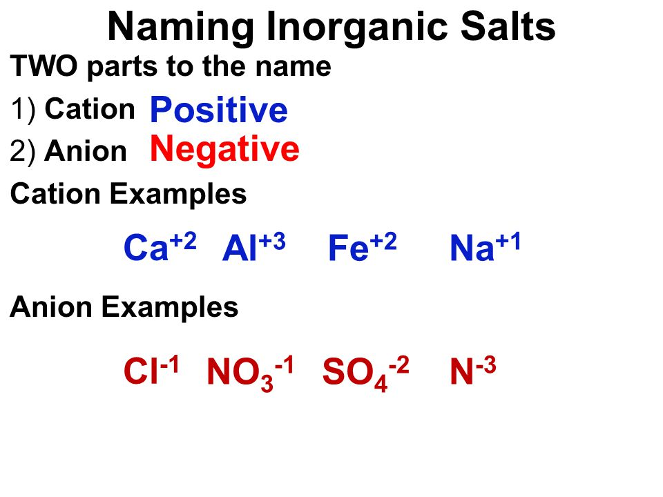 Understanding Formulas Two Classes of Elements What Are Stable ...