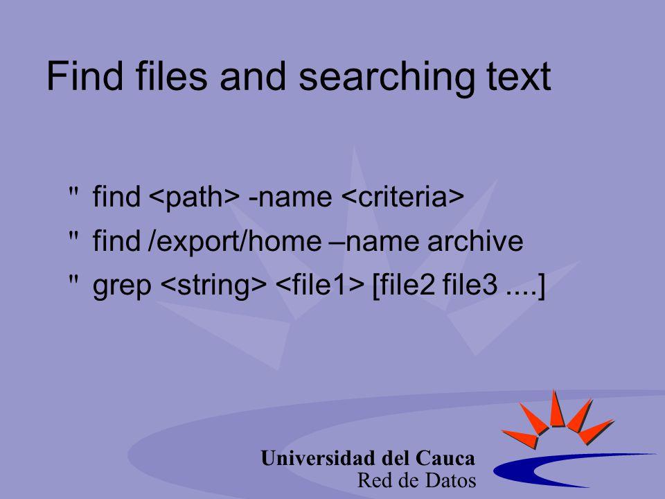 Universidad del Cauca Red de Datos Sorting sort -f -r